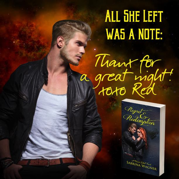 Regret and Redemption by Sabrina Wagner - note