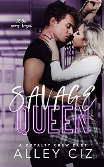 Savage Queen by Alley Ciz - cover