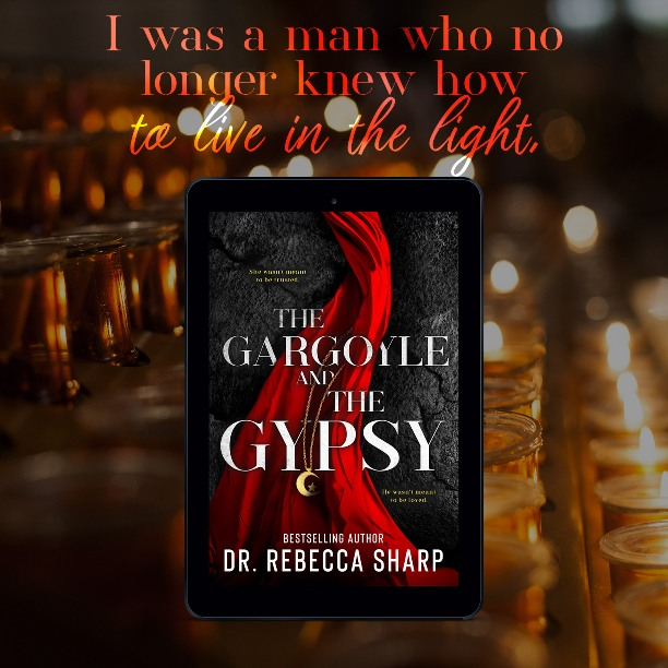 The Gargoyle and the Gypsy by Dr. Rebecca Sharp - light