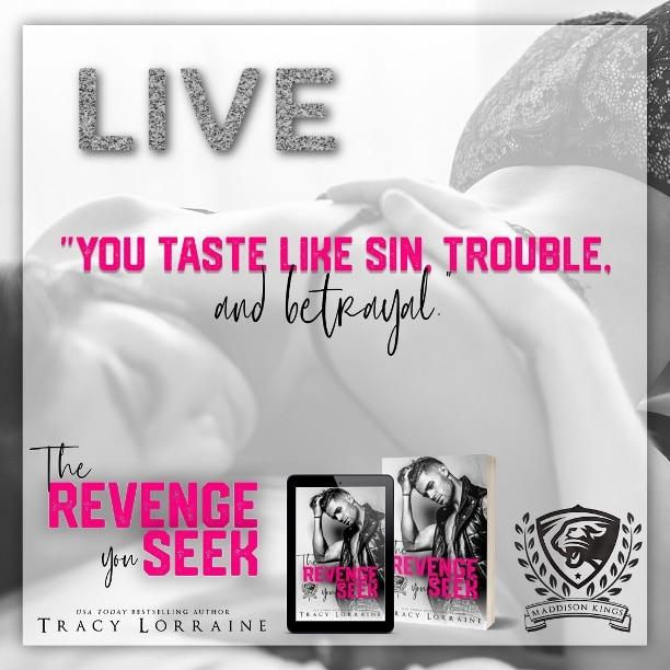 The Revenge You Seek by Tracy Lorraine - sin