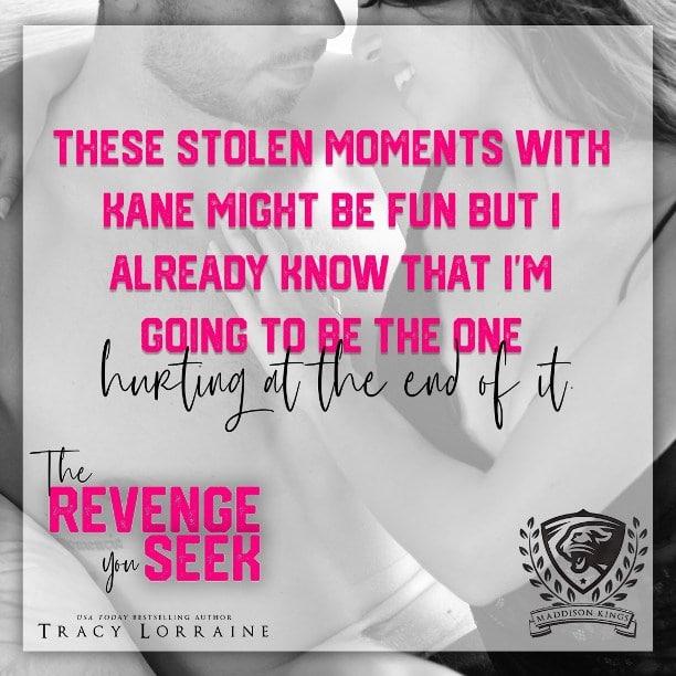 The Revenge You Seek by Tracy Lorraine - stolen