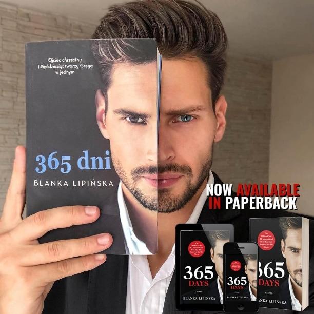 365 Days by Blanka Lipińska - cover model
