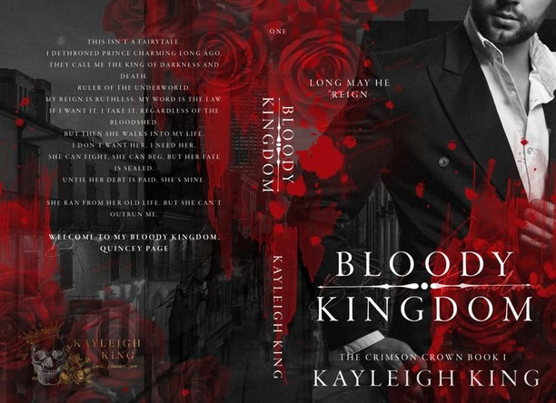 Bloody Kingdom by Kayleigh King - jacket