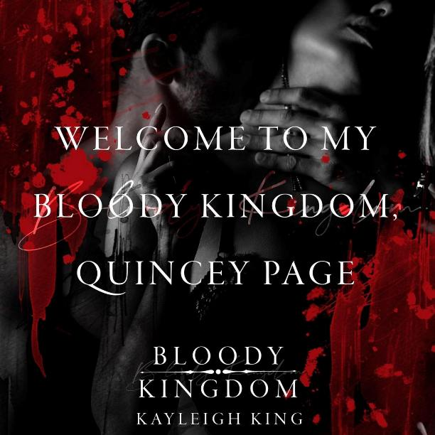 Bloody Kingdom by Kayleigh King - welcome