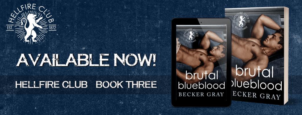 Brutal Blueblood by Becker Gray - banner