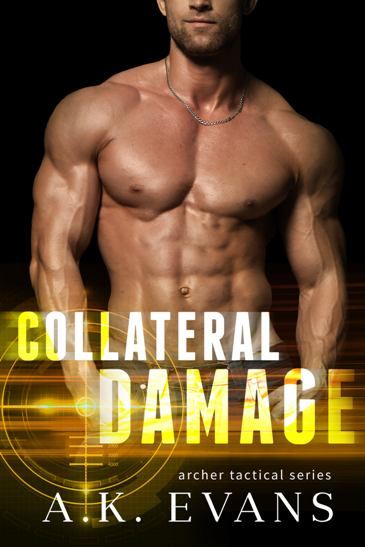Collateral Damage by A.K. Evans - cover