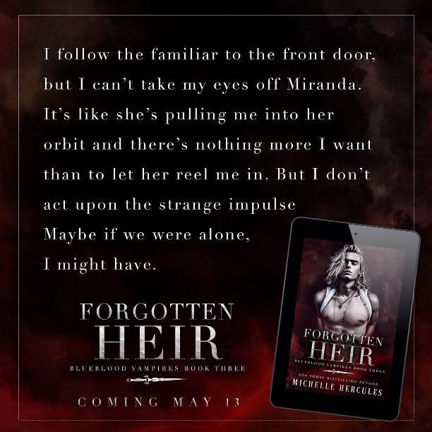 Forgotten Heir by Michelle Hercules - follow