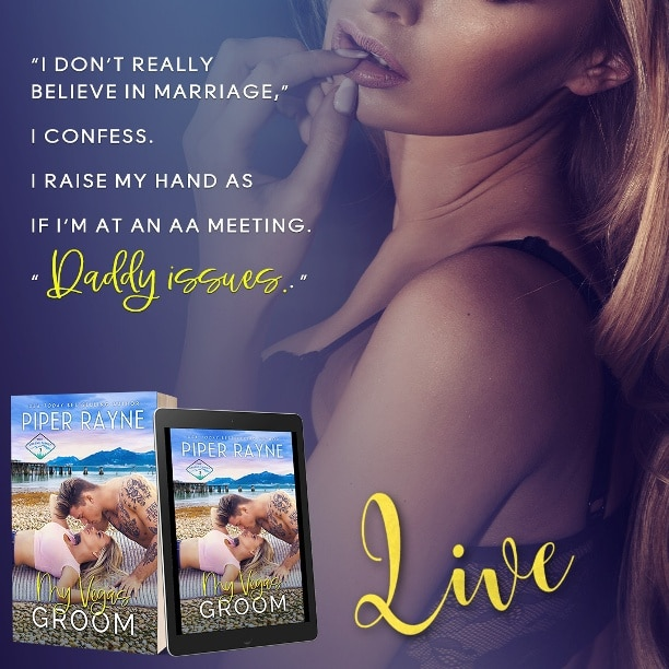 My Vegas Groom by Piper Rayne - daddy issues