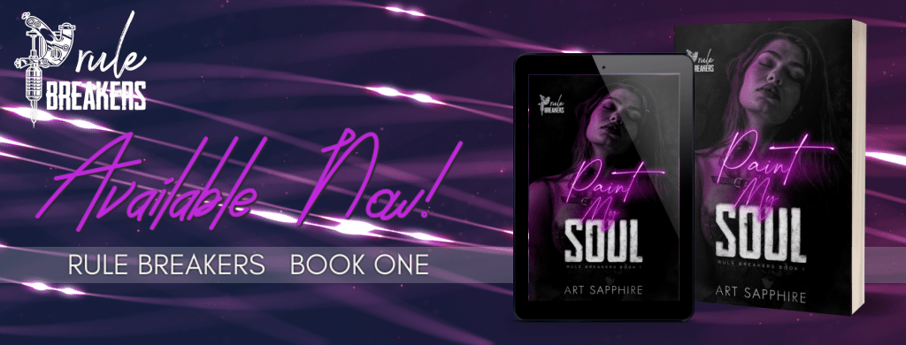 Paint My Soul by Art Sapphire - banner