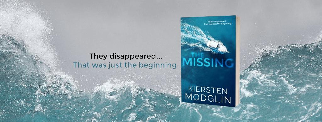 The Missing by Kiersten Modglin - banner