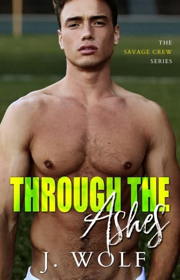 Through the Ashes by J. Wolf  - cover