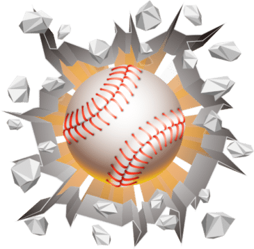Curve Ball by S.A. Clayton - 3D baseball