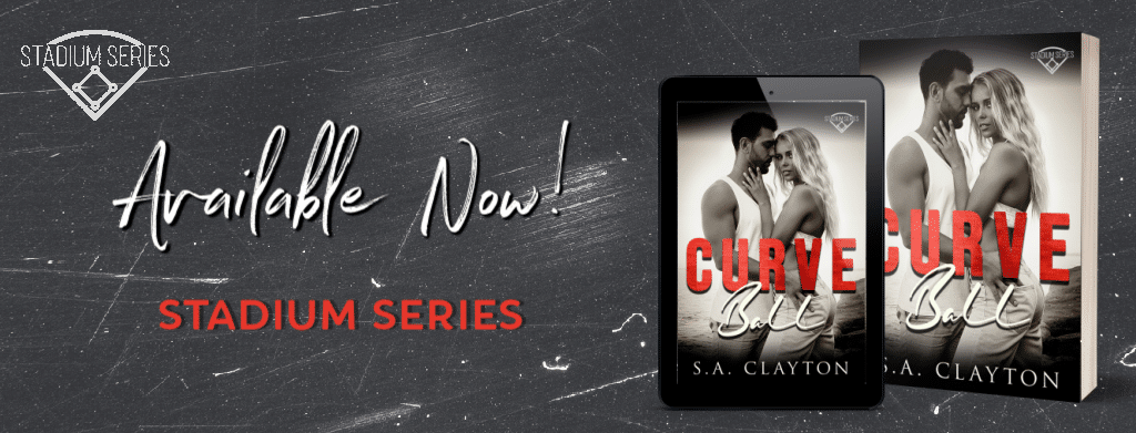 Curve Ball by S.A. Clayton - banner