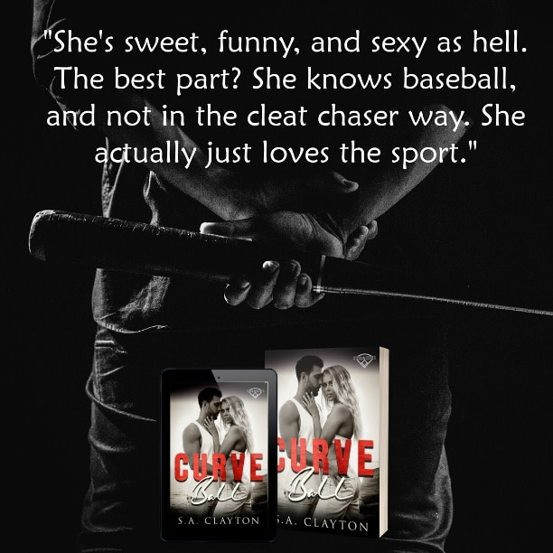 Curve Ball by S.A. Clayton - loves the sport