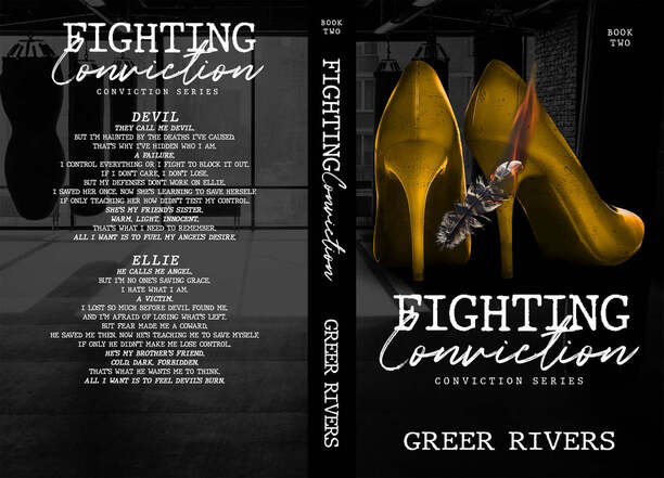 Fighting Conviction by Greer Rivers - jacket