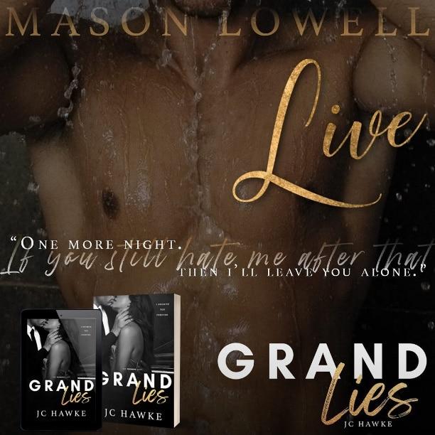 Grand Lies by JC Hawke - hate