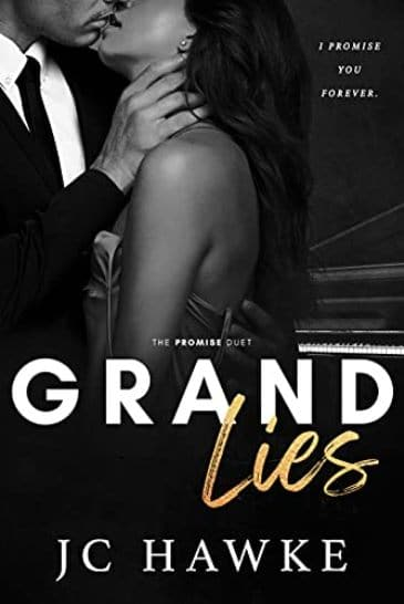 Grand Lies by JC Hawke- cover