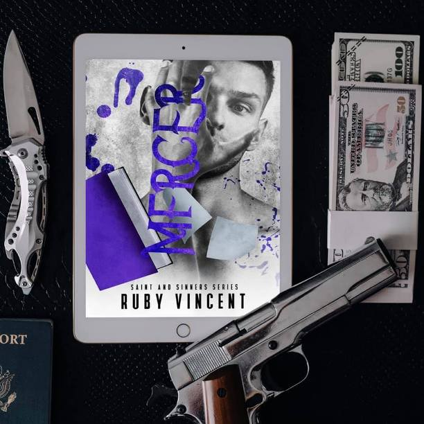 Mercer by Ruby Vincent - gun and money