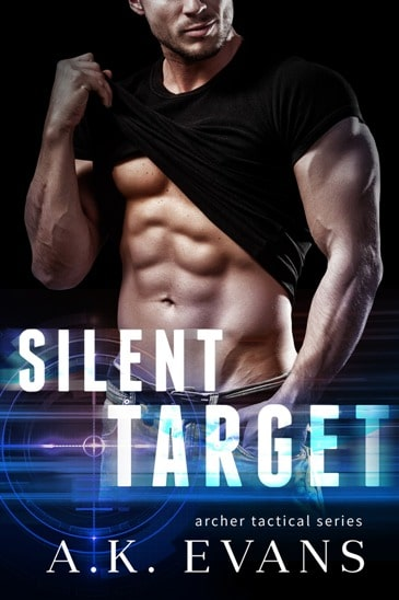 Silent Target by A.K. Evans - cover