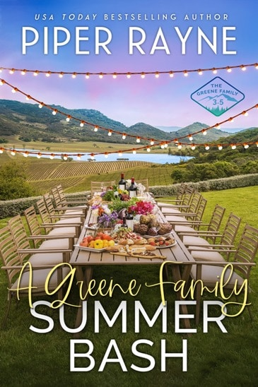 A Greene Family Summer Bash by Piper Rayne - cover