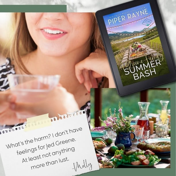 A Greene Family Summer Bash by Piper Rayne - what's the harm?