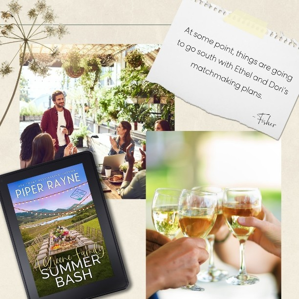 A Greene Family Summer Bash by Piper Rayne - matchmaking