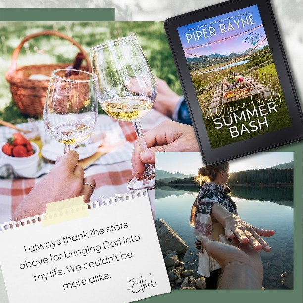 A Greene Family Summer Bash by Piper Rayne - thank the stars
