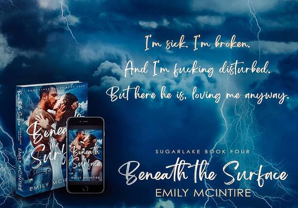 Beneath the Surface by Emily McIntire - broken