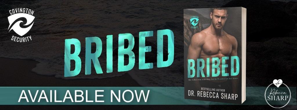 Bribed by Dr. Rebecca Sharp - banner
