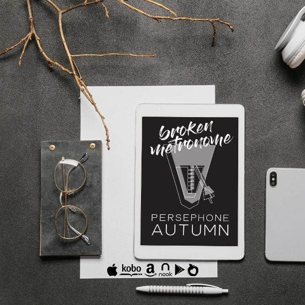 Broken Metronome by Persephone Autumn - mockup