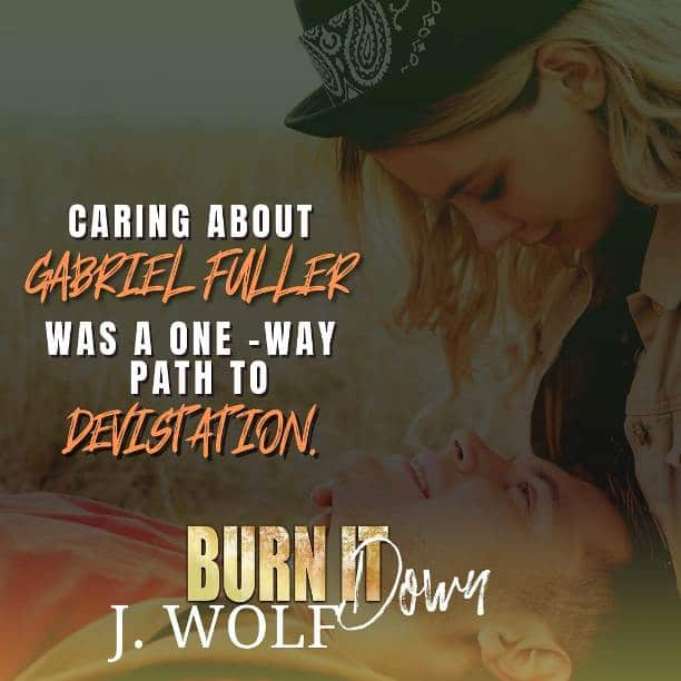Burn it Down by J. Wolf - devistation