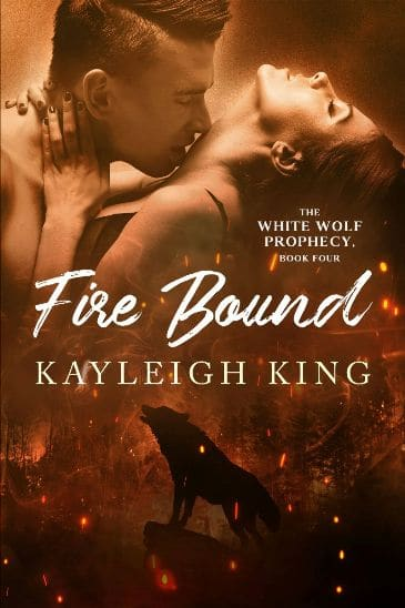 Fire Bound by Kayleigh King - cover