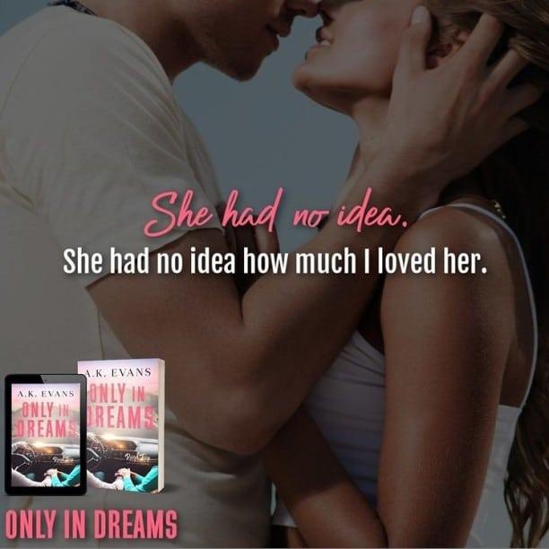 Only in Dreams by A.K. Evans - no idea