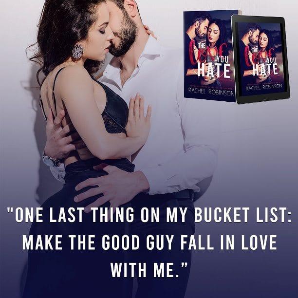 The Love You Hate by Rachel Robinson - bucket list