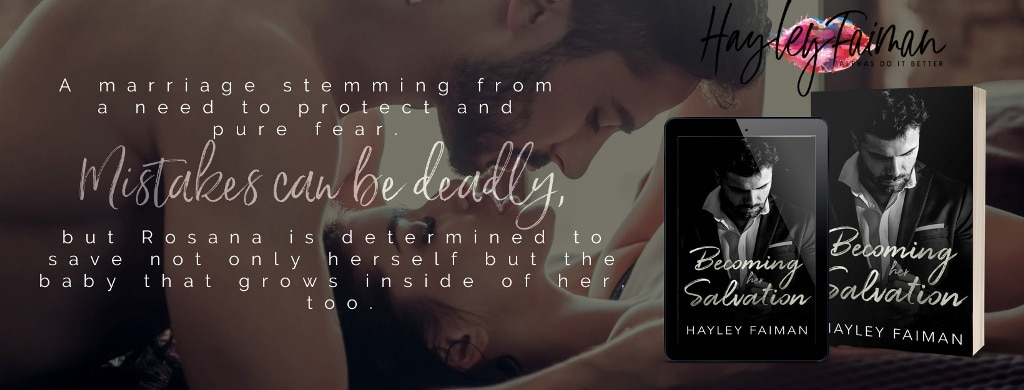 Becoming her Salvation by Hayley Faiman - banner