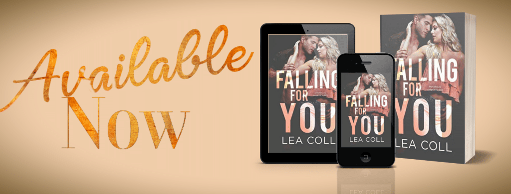 Falling for You by Lea Coll  - banner