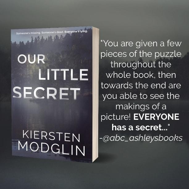 Our Little Secret by Kiersten Modglin - review1