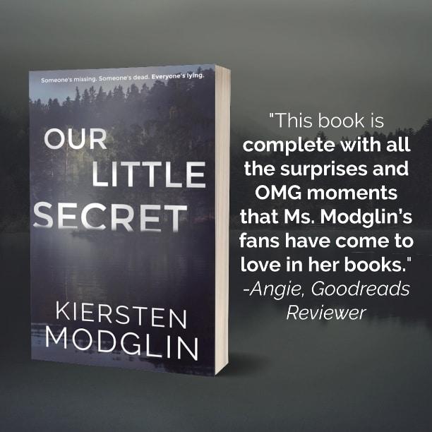 Our Little Secret by Kiersten Modglin - review 2