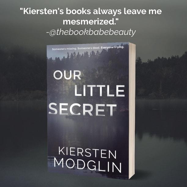Our Little Secret by Kiersten Modglin - review 4