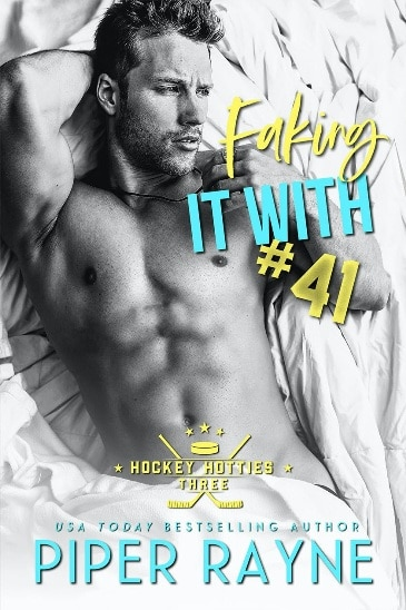 Faking It with #41 by Piper Rayne - cover