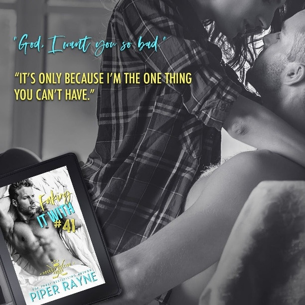 Faking It with #41 by Piper Rayne - can't have