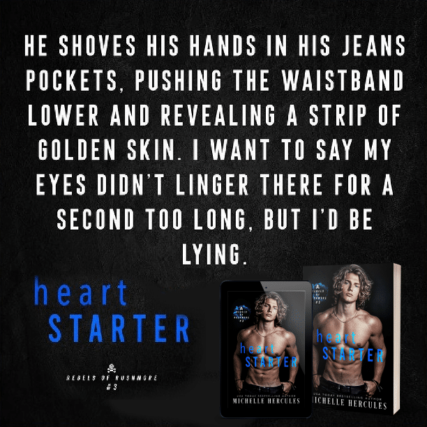 Heart Starter by Michelle Hercules - second too long