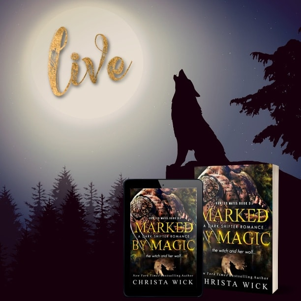 Marked by Magic by Christa Wick - live