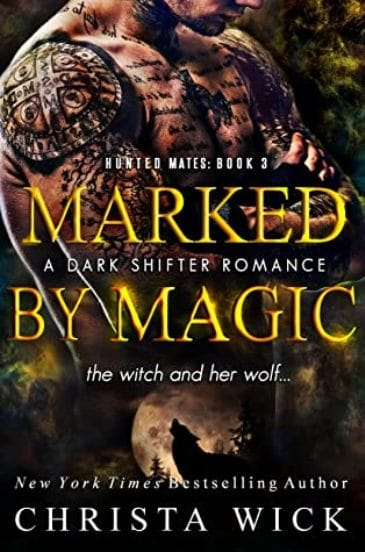 Marked by Magic by Christa Wick - cover