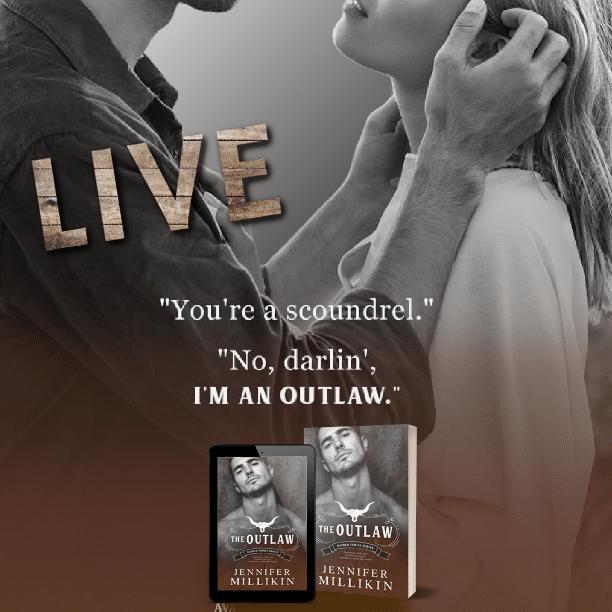 The Outlaw by Jennifer Millikin - scoundrel
