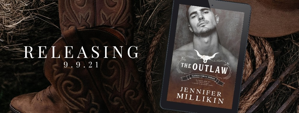 The Outlaw by Jennifer Millikin - banner