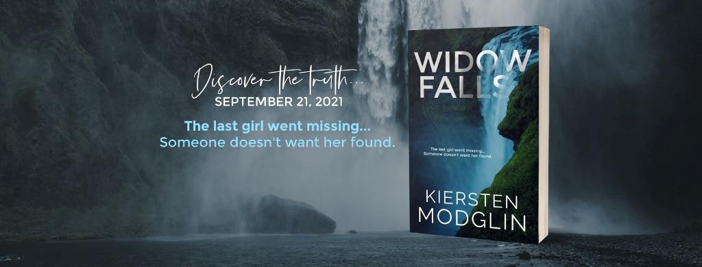 Widow Falls by Kiersten Modglin - banner